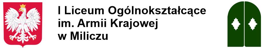 I Liceum Ogólnokształcące im. Armii Krajowej w Miliczu
